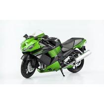 Kawasaki Zx14 (2011) Escala 1:12 Juguete Coleccionable