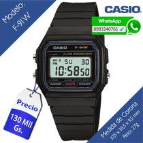Reloj Casio F91 W Original (delivery - Envíos Al Interior)