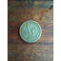 Moneda De 1 Dollar, De Thomas Jefferson