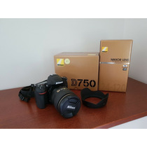 Brand New Nikon D750 Vr Kit 24-120mm Lens