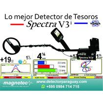 Detector De Metales Tesoro Spectra V3i- A Cuotas -americano
