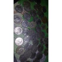 Colección De Quarter Dollar Y Otras Monedas-precio Negociabl