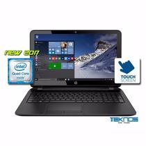 Notebook Hp Touchscrem Cpu Quad Core , 4gb E 500 Hd