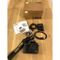 Nikon D800e Cámara Digital De 36.3mp D800e Cuerpo, Disparado