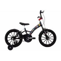Bicicleta Aro 16 Infantil Mountain Unisex Negro
