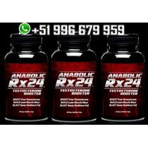 Anabolic Rx24 Mas Rendimiento Mas Testosterona Natural 3pote