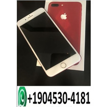 Apple Iphone 7 Plus Red 256gb With Guarantee Sealed