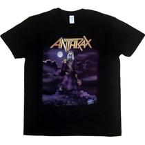 Remera Anthrax - Suzerain - Manga Corta - Gildan - Xg