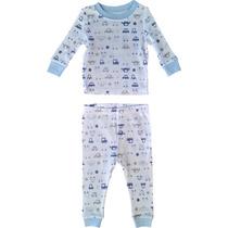 Pijama Autos Bebé 9m 100% Algodón