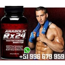 Anabolic Rx24 Aumentar Testosterona Ganar Masa Muscular