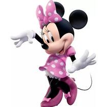 Kit Imprimible Minnie Mouse Rosa Fucsia Fiesta 3x1