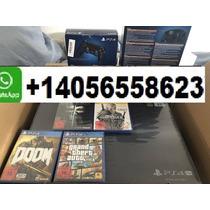 Sony Playstation 4 Pro 2tb Original Con 10 Juegos