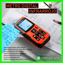 Metro Digital Láser Nuevo En Caja