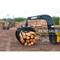 Garra Suspendida Frontal Para Leña - Forestal H80