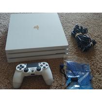 Sony Playstation Ps4 Pro Blanco 500gb 2 Consola De 1tb